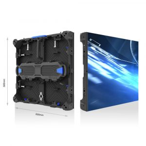 P4.81mm Indoor MAX500 500mmX500mm Rental LED Cabinet