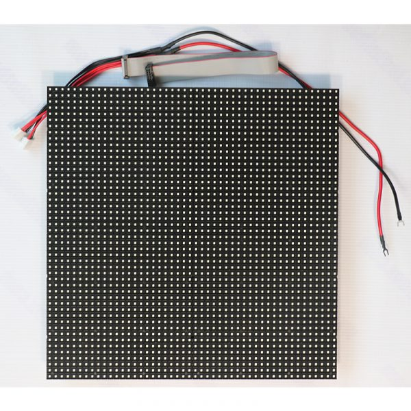 P6.67mm Outdoor SMD 320mmx320mm Dual Service IP68 Aluminum Bottom Shell LED Module
