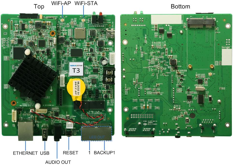 novastar T3 LED control card
