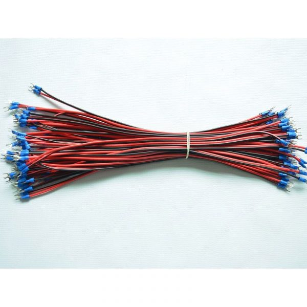 U Shape Power Cable 500mm 10 PCS