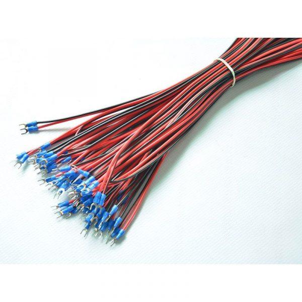 U Shape Power Cable 500mm 10 PCS