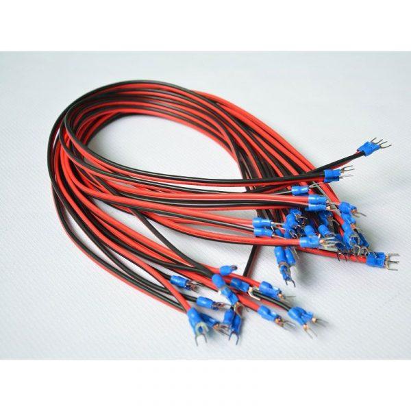 U Shape Power Cable 600mm 10 PCS
