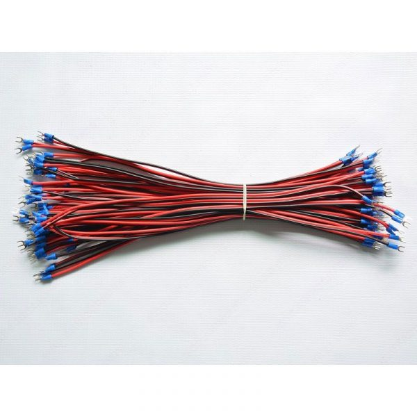 U Shape Power Cable 400mm 10 PCS