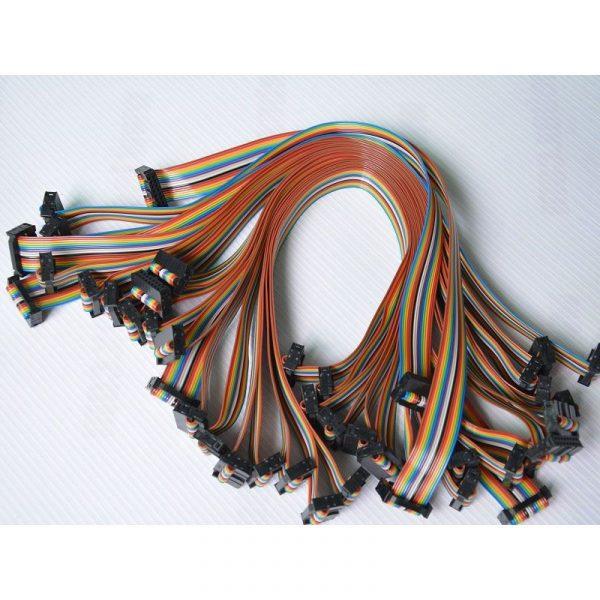 16Pin LED Rainbow Ribbon Cable 400mm 20 PCS