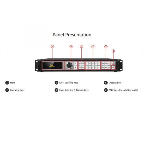 Magnimage LED-780H LED Video processor