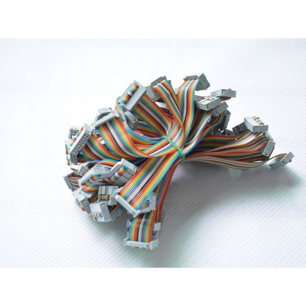 16Pin LED Rainbow Ribbon Cable 150mm 20 PCS