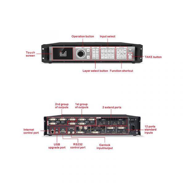 Magnimage LED-W4000 8K*2K Video processor