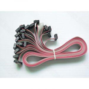 16Pin LED Flat Ribbon Cable 600mm 20 PCS